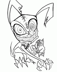 Scary Coloring Pages Halloween
