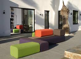 funky patio furniture. One Of These Is Marine Peyre, Whose Colorful Furniture Collections, Including The Modular BFLEX Line, Composed Smooth Contemporary Pieces That Work Funky Patio