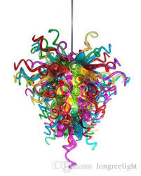 factory lighting chandeliers multi colored dale chihuly murano glass chandeliers hanging glass led lighting for party decoration kitchen hanging
