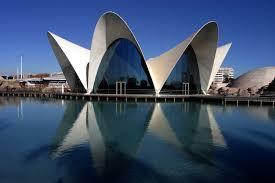 Oceanografico Building in Valencia Spain