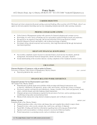 Qualifications For A Customer Service Representative Banking Customer Service Representative Cv Sample