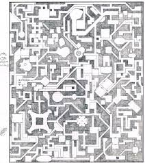 Old Dungeon Map This Is A Hand Drawn Dungeon Map For The D Flickr