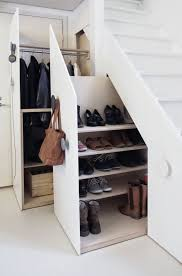 Under Stair Shoe Organizer