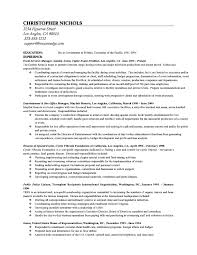Sample Law School Resumes