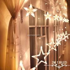 curtain lights 4xaa batteries powered 3mx2m 12 stars 138 leds window diy lighting