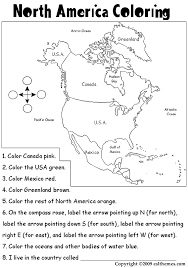 Small Picture north america coloring sheet north america in world map coloring