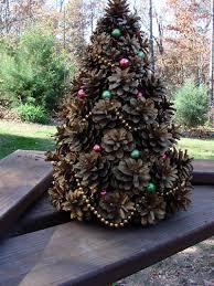 Making Winter Pine Cone Angels Paper Stars Window Stars Pine Cone Christmas Tree Craft Project