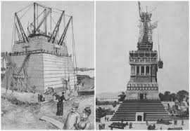 Statue Of Liberty Design History The Design Transport And Construction Of The Statue Of