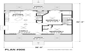 Small House Floor Plans Under Sq FT Small Cottage House Plans