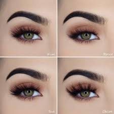 perfect simple and neutral eye makeup