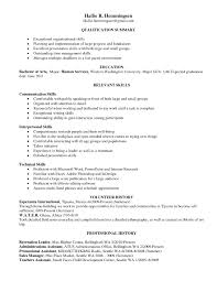 Social Services Resume Samples Luxury Skill Based Resume Examples