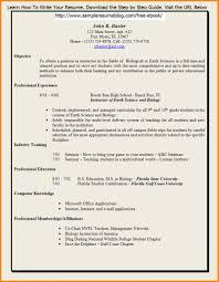 School Teacher Resume Format In Word It Resume Cover Letter Sample