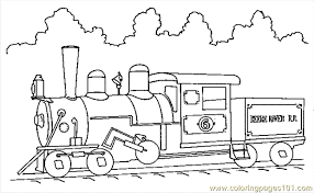Small Picture Train Coloring Page 11 Coloring Page Free Land Transport
