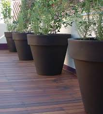 and large flower pots are available in a range of colours for the home and office garden for the larger specimen plants a 2m wide pot will more than