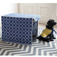 designer dog crate covers. Modren Crate Ballard Designsu0027 Stylish Trellis Pet Crate Cover Makes That Cold Wire Crate  Cozier For Your With Designer Dog Covers E