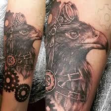 стимпанк тату на руке ноге плече для мужчин и девушек эскизы
