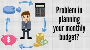 Monthly Budget Planning Monthly Budget Plan Your Monthly Income And Expenditure