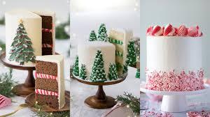 Christmas Cake Design Pinterest Amazing Christmas Cake Decorating Compilation