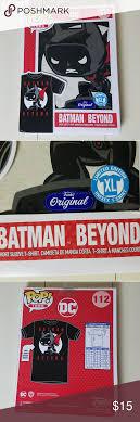 Funko Pop Tees Size Chart Pop Tees Batman Beyond T Shirt This Shirt Is Brand New And