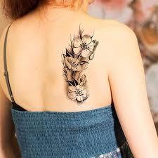 1 шт модные сексуальные женские временные татуировки сливы водонепроницаемые