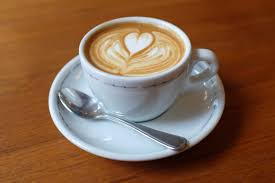 Image result for photograph of latte with heat on top
