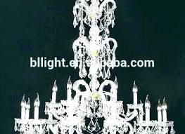 battery powered chandelier with remote operated control crystal