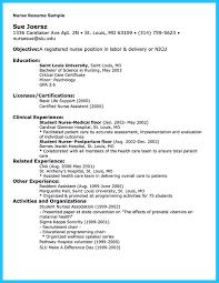 Nicu Nurse Job Description Resume Free Resume Example And