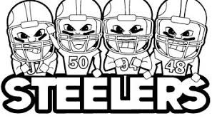 Small Picture pittsburgh steelers coloring page steelers football coloring