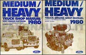 ford f600 service manuals shop owner maintenance and repair 1980 ford f b c l 600 9000 medium and heavy truck