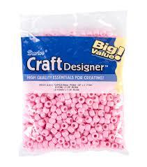 Darice Jewelry Designer Beads Darice Pony Beads 6mmx9mm 720 Pkg Beads Bead Assortments