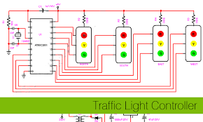 ec project3 jpg wiring diagram for traffic light the wiring diagram 4 way traffic light circuit diagram