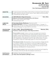Art History Resumes Graphic Design Resume Sample Pdf Resumes For An Art Director