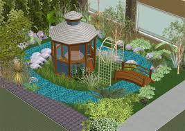 Small Picture Creating your 3D Tropical Garden Plan Thai Garden Design