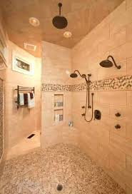 tile showers without doors modern bathroom with walk in shower without door using wall tiles and tile showers without doors