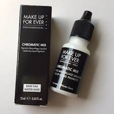 make up for ever chromatic mix water base