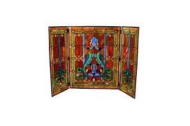 stained glass fireplace screen stained glass fire screen decorative stained glass fireplace screen stained glass fireplace