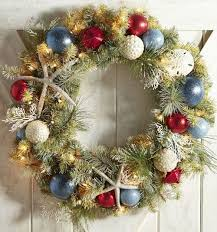 The Perfect Coastal Christmas Wreath...on Sale: http://www