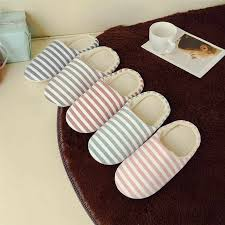 Women Christmas Home Flat Slippers Female Slip On Indoor Shoes ...