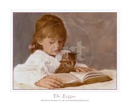 The Lesson' Art Print - Hillary Hunt Amaro | Art.com