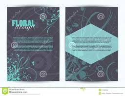 two sided flyer template free template 2 sided brochure template double floral design flyer free
