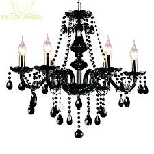 black and crystal chandelier luxury black crystal chanlier living room lamp indoor lights crystal pendants large black and crystal chandelier lights large