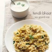 tendli bhaat recipe | kovakkai rice recipe | tondli bhaat recipe