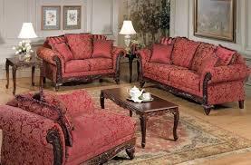traditional living room furniture sets. Flora Magenta Fabric Traditional Sofa Set Living Room Furniture Sets T