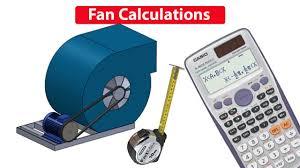fan motor calculations pulley size rpm air flow rate cfm hvac rtu