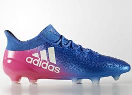 adidas x 16 1 firm ground boots blue blast blue footwear white shock pink