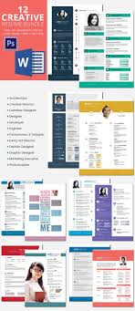 442 Best Resume Template Images On Pinterest Resume Templates