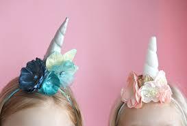 how to make a unicorn headband unicorn headband diy