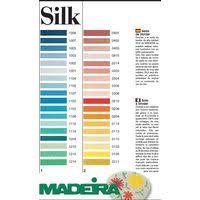 Thread Colour Charts Madeira Silk Hand Embroidery Thread