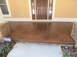stained concrete ideas for exterior