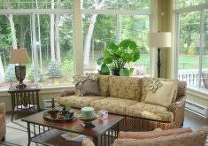 3 season porch furniture.  Porch 3 Season Porch Furniture Beautiful Sunroom White Cushions And Blue  Pillows On Black Wicker Looks Fresh Clean To O